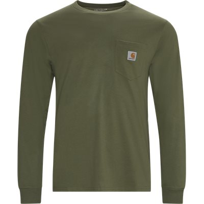 L/S Pocket T-shirt Regular | L/S Pocket T-shirt | Grøn